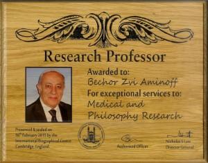 Dr.Aminoff-Professorship