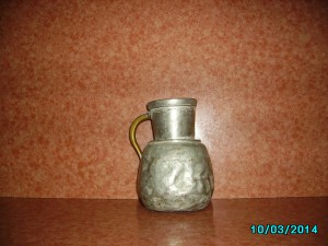 My grandmother's coppery water -jug  more 100 years old