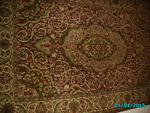 Our Carpet 66 years old,by from Prof.Nesis in 1973 (2)